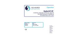 Sea-Bird Scientific HydroCAT-EP Manual