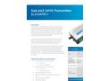 Sutron - Model SatLink 3 XMTR - Satellite Transmitter - Leaflet