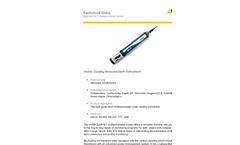 OTT Hydrolab - Model HL7 - Multiparameter Sonde - Datasheet