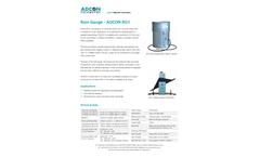 Adcon - Model RG1 - Rain Gauge - Brochure