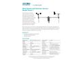 Aadcon - Model Vento1 - Wind Speed and Direction Sensors - Brochure