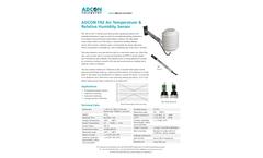 Adcon - Model TR2 - Air Temperature & Relative Humidity Sensor - Brochure