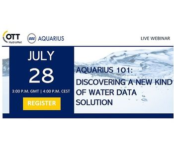 Live Webinar: Discover A New Kind of Water Data Solution with AQUARIUS