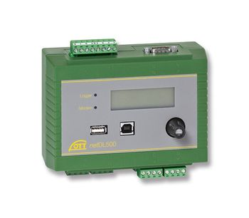 OTT HydroMet - Model netDL 500 and 1000 - Data Logger for Remote Data Collection & Long Term Monitoring
