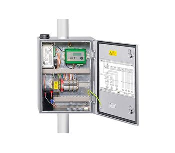 OTT MetSystems - System Cabinets With Integrated Components for Automatic Weather Stations