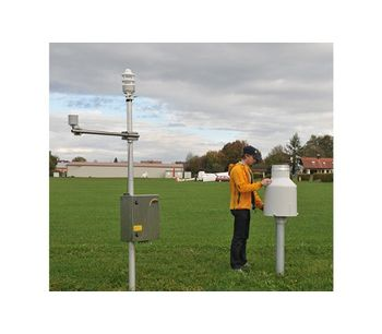 System Cabinets With Integrated Components for Automatic Weather Stations-1