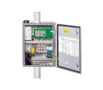 System Cabinets With Integrated Components for Automatic Weather Stations-2