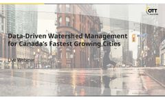 Webinar Recording: Data-Driven Watershed Management for Canada's Fastest-Growing Cities1 (AQUARIUS) - Video