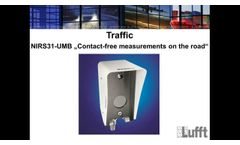 LufftAcademy Webinar: NIRS31 - UMB - Must-Know About Contact - Free Road Conditions Measurements - Video