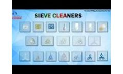 Plansifter Machine Sieves Cleaner & Pan Cleaner for Flour Mill - Video