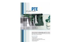 PTA Effluent Filter Brochure