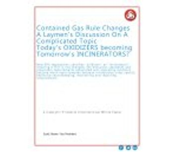 Contained Gas Rule Changes