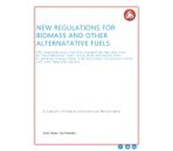 New Regulations for Biomass and Other Alternative Fuels