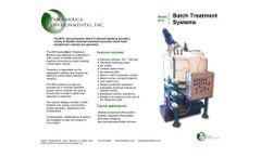 Pan America Environmental - Model BTS - Batch Treatment System - Brochure