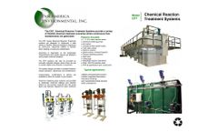 Pan America Environmental - Model CRT Series - Chemical Reaction Treatment Plant - Brochure