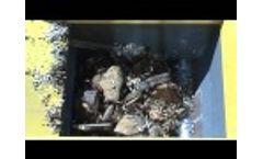 Shredding of off-cuts VR Series - Video