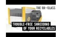 Plastic shredders for industrial recycling