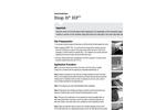 StopIt - Model HP - High Pressure Leak Sealant - Instructions Manual
