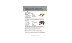 First Response - Emergency Leak Repair Kits - Datasheet