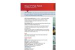 Stop It - Flat Patch Leak Sealant - Data Sheet