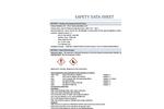 CR-E Resin Medium Temp (MT) - Material Safety Data Sheet