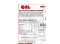 Model QTS-1300 Series - Oxygen Transmitter/Sensors Brochure