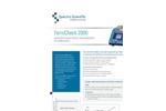 FerroCheck - Model 2000 Series - Portable Ferrous Wear Metal Measurement in Lubricants - Datasheet