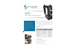Spectro Scientific - Model Q5800 - Expeditionary Fluid Analysis System - Datasheet