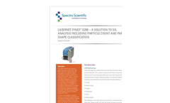 White Paper - Lasernet Fines Q200 – A Solution to Oil Analysis Including Particle Count and Particle Shape Classification
