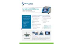 FerroCheck 2000 Series Ferrous Metal Analyzer - Datasheet