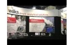 Wilks at Pittcon introducing InfraCal 2 - Video