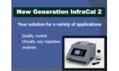 New InfraCal 2 Analyzer for On-Site Testing - Video