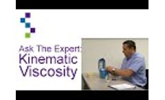 Ask the Expert: Kinematic Viscosity for Compressor Oils - Video