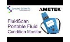 FluidScan: Portable Fluid Condition Monitor - Video
