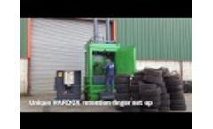 LSM - Model V85 - Tyre Baler - Video