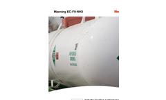 Manning EC-F9 NH3 with SensorCheck Datasheet