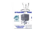 CS -1 Gyratory Sfiter - Brochure