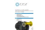 FPZ - Model IE3 - Electric Motors  Brochure