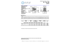 FPZ - Model K06 TS - Regenerative Pressure Blowers Brochure