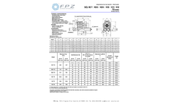 FPZ - Model K07 TS - Regenerative Pressure Blowers Brochure