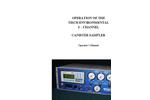 TE-323 - Canister Sampler Brochure