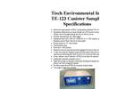 TE-123 Canister Sampler Specification Sheet