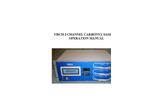 TE-423 - 3-Channel Carbonyl Sampler Brochure