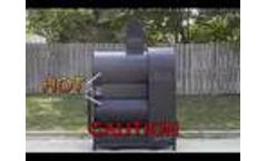 Oil skimmer with Screw Pump  - Video