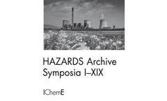 Hazards Archive Symposia I-XIX CD-ROM