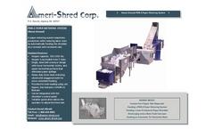 Ameri-Shred - PMS-2 - Paper Metering Systems - Brochure