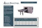 Ameri-Shred - Series 4 - Strip Cut Industrial Paper Shredders - Brochure