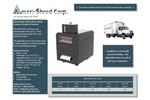 Ameri-Shred - AMS-300AS - Adjustable Hard Drive Shear - Brochure