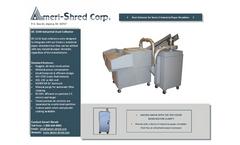 Ameri-Shred - DC-1100 - Industrial Dust Collector - Brochure