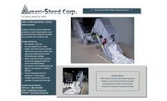 Ameri-Shred - PMS-3 - Paper Metering System - Brochure